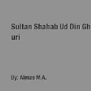 Sultan Shahab Ud Din Ghaouri