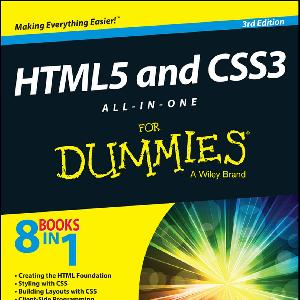 HTML 5 and CSS 3 All in One for Dummies 2014 PDF