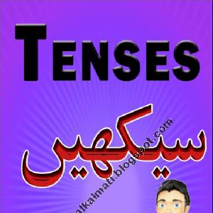 English Tenses Learning PDF