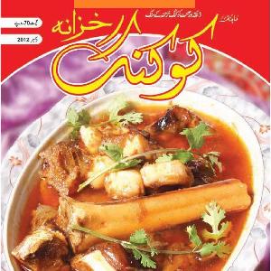 Monthly Cooking Khazana December 2012 in Urdu