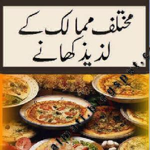 Popular Delicious Food Recipes Of Different Countries in Urdu